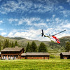 "<h2>Liftoff at the Ranch</h2> <br/>I ran out into the field to capture this just as the helicopter takes off after unloading another group of guests.  The lighting and angle were perfect, so I was curious to see if I could catch the helicopter blade totally still.  I did!  A good experiment...  note that many of my experiments fail... but this one worked out.<br/><br/>And yes, obviously, this is an HDR from a single RAW.<br/><br/>- Trey Ratcliff<br/><br/><a href=""http://www.stuckincustoms.com/2011/01/09/the-mark-nason-bag/"" rel=""nofollow"">Click here to read the rest of this post at the Stuck in Customs blog.</a>"