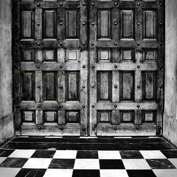 Doors of St Paul's Cathedral, London.