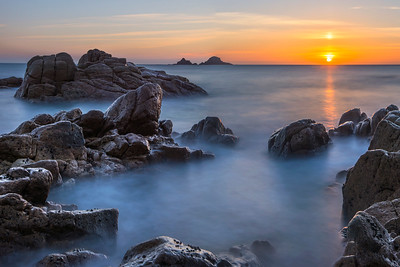 Porth Nanven sunset