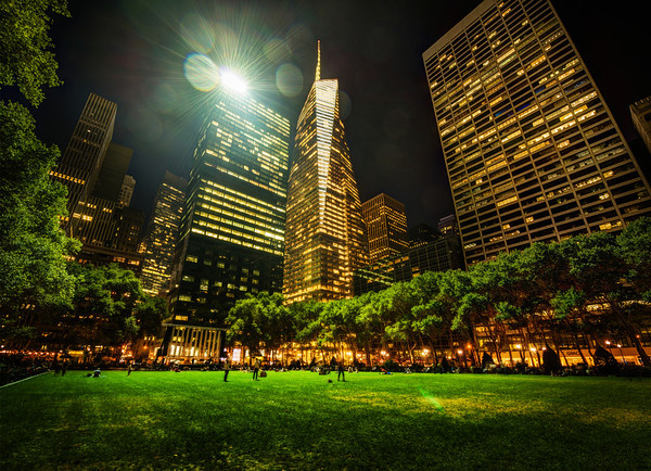Bryant Park in New York City This is where I ended my walk with Luke that night in New York City. It was sort of a lazy, meandering walk… going here and going there. But my hotel was right by this park. I lament that I never got a shot inside the awesome library, but the tripod police were out in full force. I actually felt like I was in more danger there than in the middle of this New York City park in the middle of the night!- Trey RatcliffClick here to read the rest of this post at the Stuck in Customs blog.