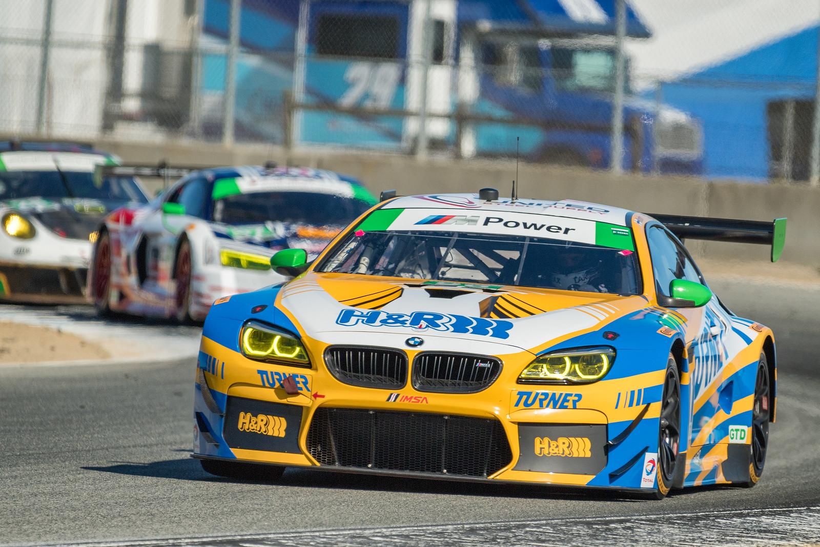 Turner Motorsport BMW M6 GT3 Exiting T4