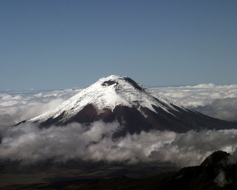 Mt. Cotapaxi - The highest mountain in Ecuador at 19,344 feet