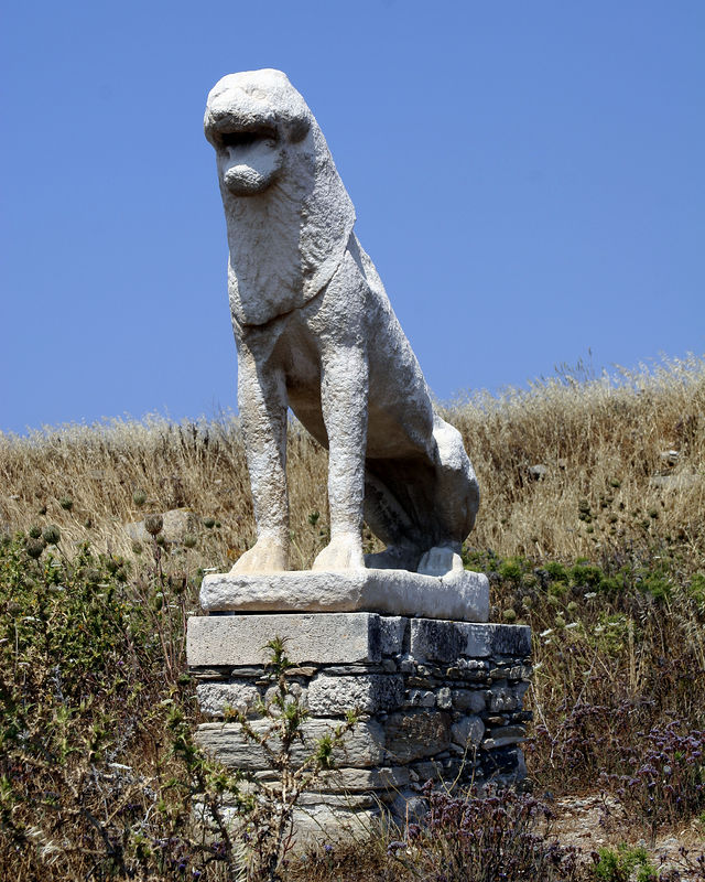 Delos -- One of the Lions of Delos