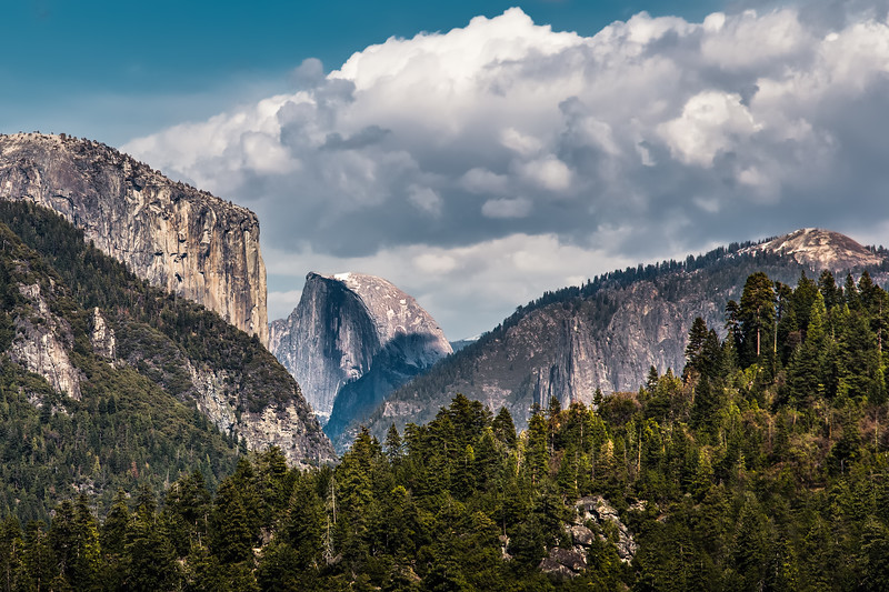 Entering Yosemite Valley