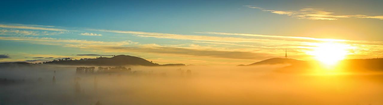 Coppins Crossing Sunrise