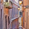 The Blue Cobblestone Streets Of Old San Juan