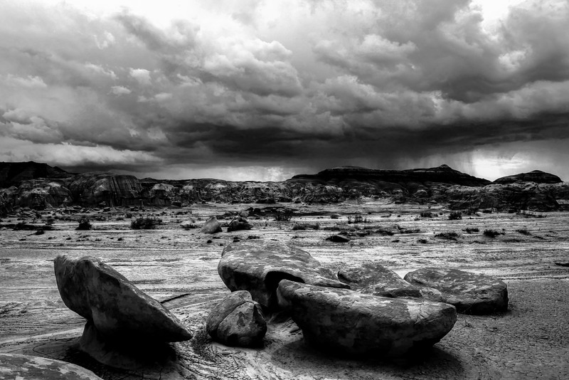 Storm over Bisti Wilderness