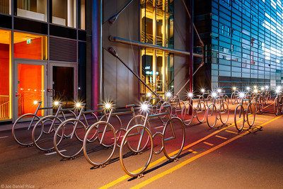 Bicycle Stands, Barcode Area, Oslo, Norway