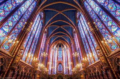 La Sainte-Chapelle Upper Chapel, Paris, France