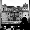 Passing Time At Cappuccino Cafe - Cusco Peru South America