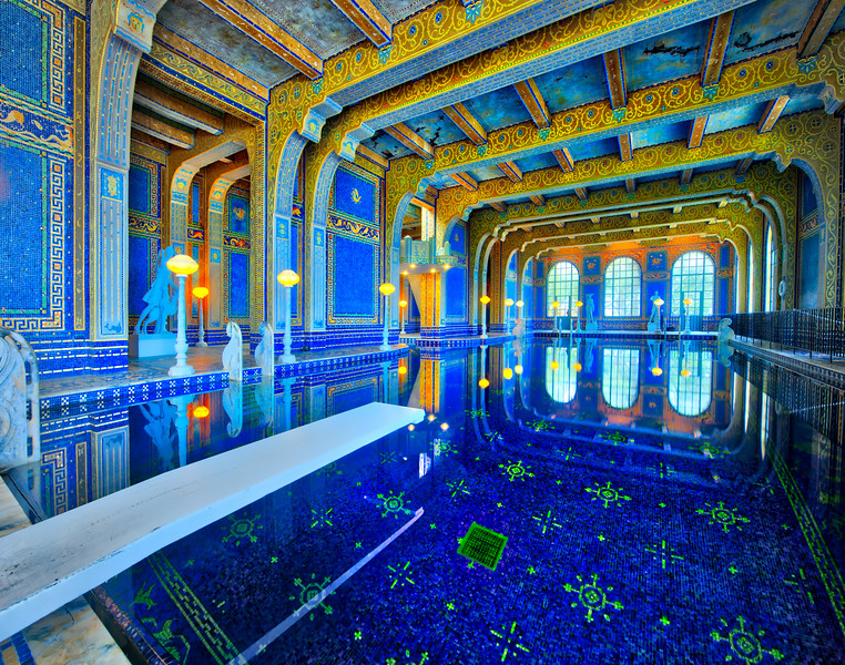 Hearst Castle Pool Party