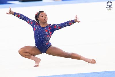 Tokyo 2020:  Artistic Gymnastics Women's Qualification JUL 25