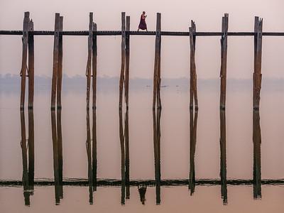 U Beim's Bridge, Taungthaman Lake