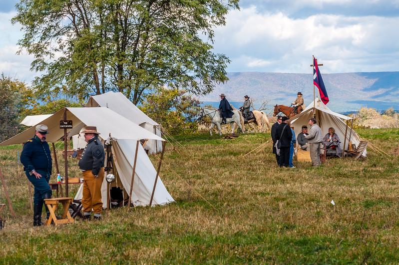 Confederate Camp in the Shenandoah