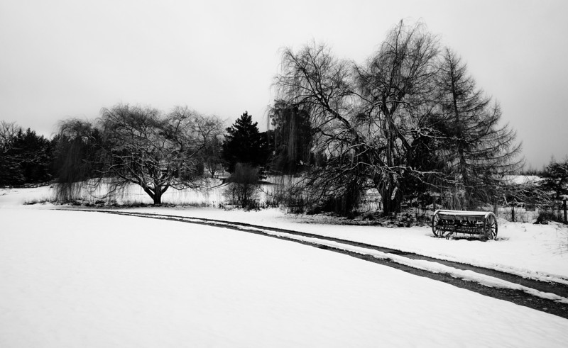 "<h2>Path through the Snow</h2> <br/>Just today, on the way home after the Winter Festival in downtown Queenstown, I saw this scene just off the road. I jumped out of the car and got in a good spot to take a photo. There is no tripod or anything… just a handheld shot with the Sony NEX-7. I processed it in Lightroom and Silver Efex Pro. Actually, I also made a video of me processing it… the team is actually working on something cool on the backend too… a new way to bring you these videos!<br/><br/>- Trey Ratcliff<br/><br/><a href=""http://www.stuckincustoms.com/2013/06/22/on-the-way-to-the-cabinstudio/"" rel=""nofollow"">Click here to read the rest of this post at the Stuck in Customs blog.</a>"