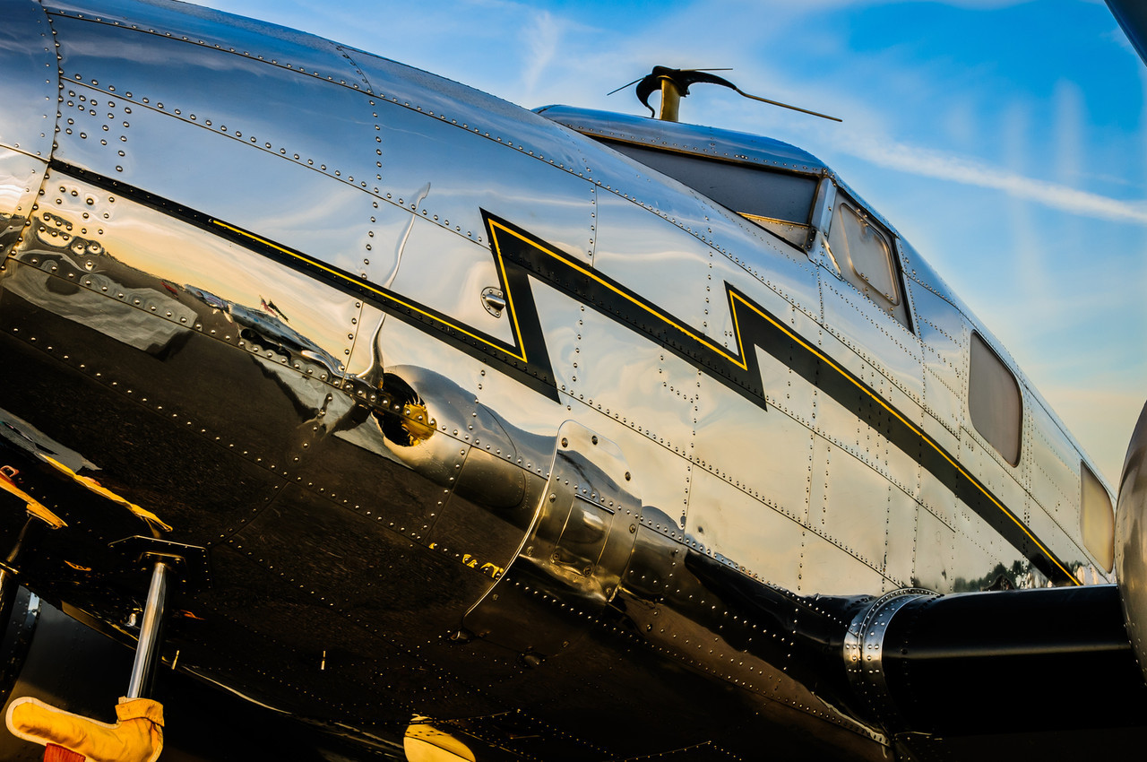 Lockheed 12A Electra Reflection