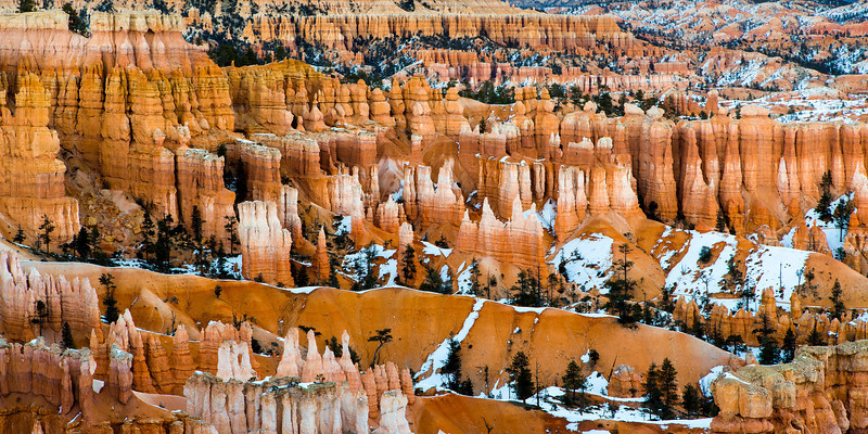 Bryce Canyon Landscape Photo.
