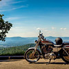 Harley Davidson on the Blue Ridge