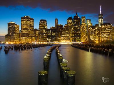 Lower Manhattan Blue Hour