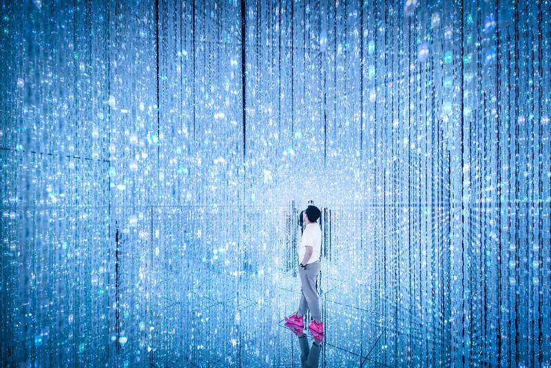 Standing in Light in Tokyo
