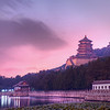 "<h2>Evening at the Summer Palace</h2> I didn't make it to the Summer Palace until my final evening in Beijing, and I was graced with a delicate sunset.  This place is also called the ""Gardens of Nurtured Harmony"" and it rests on top of ""Longevity Hill"", a very Chinese-folk-sounding name.  What is kind of interesting is that this entire area was manmade, and the huge hill was built out of dirt when they excavated the man-made lake!  It is a truly beautiful place, as you can plainly see.  I could not have asked for a better place to explore on my last night in China.  - Trey Ratcliff  Read more (and check out a new TWIT Photo Webcast) <a href=""http://www.stuckincustoms.com/2011/06/03/summer-palace/"">here</a> at the Stuck in Customs blog."