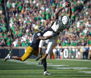 Vanderbilt plays Notre Dame on Saturday. September 15, 2018. (Photo by Hunter Long)
