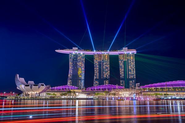 Marina Bay Sands Laser
