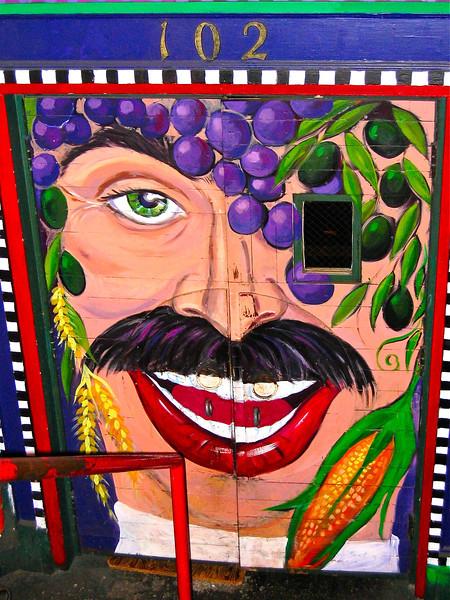 Colorful Seattle door