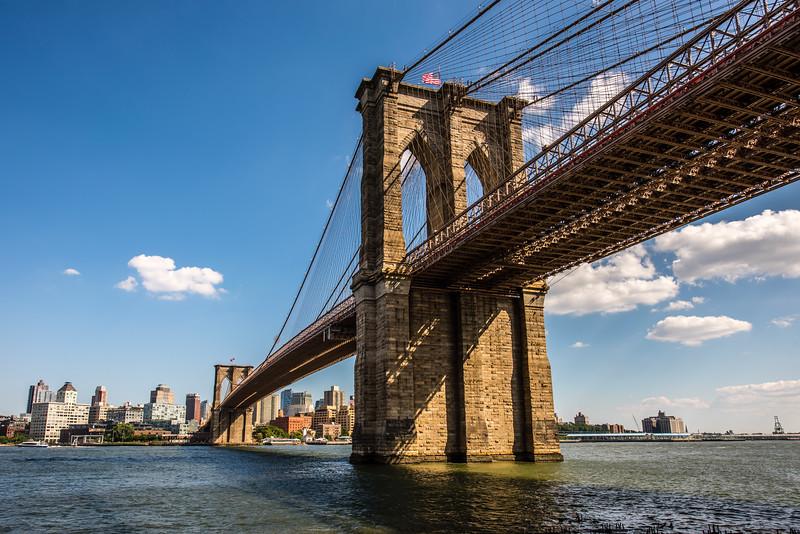 Brooklyn Bridge Evening Light