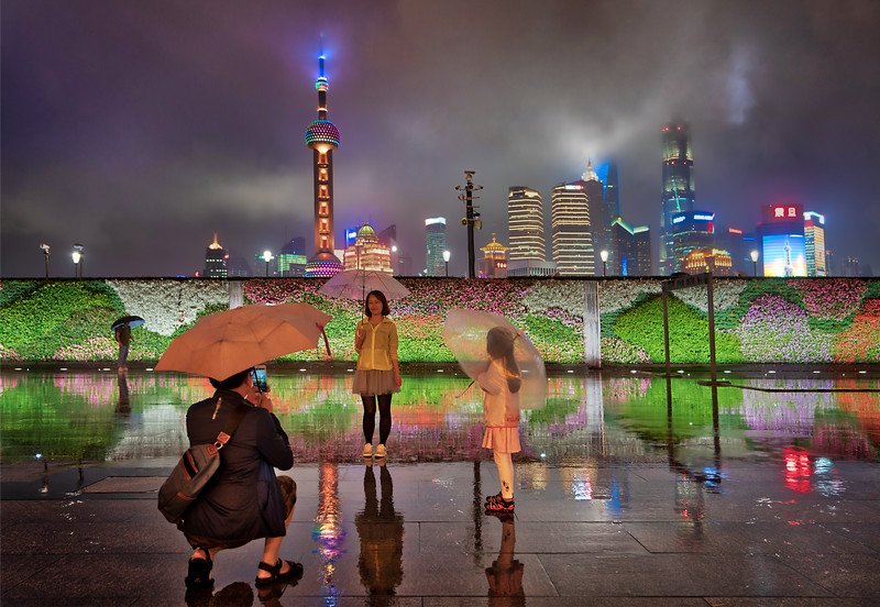 A Rainy Evening In Shanghai