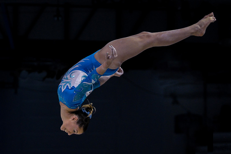 Women's All Round Artistic Gymnastics at the Pan American Games in Toronto, Ontario, Canada