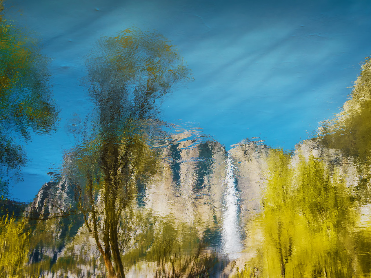 Abstract Landscape (California)