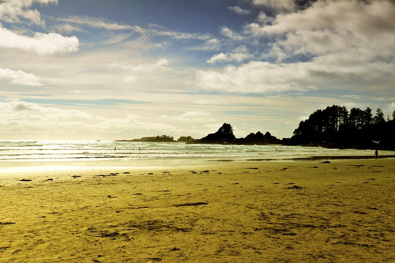 West Coast Beach - Tofino British Columbia Canada