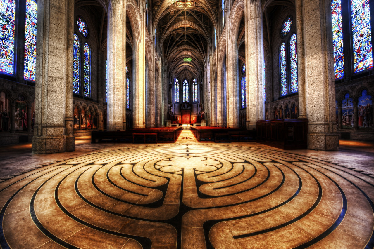 """<h2>The Inner Sanctum</h2> <br/>Here is a cool and relatively unknown place in San Francisco.  Can anyone figure out where this mysterious location is?<br/><br/>I went in here with my dad while we were looking for cool photo-ops.  We weren't so sure we were allowed in this place, but we just busted in quickly for a shot before anybody said anything.<br/><br/>- Trey Ratcliff <br/><br/>Read more <a href=""""http://www.stuckincustoms.com/2010/07/18/about-to-jump-out-of-a-plane-with-the-armys-golden-knights/"""">here</a> at stuckincustoms.com."""