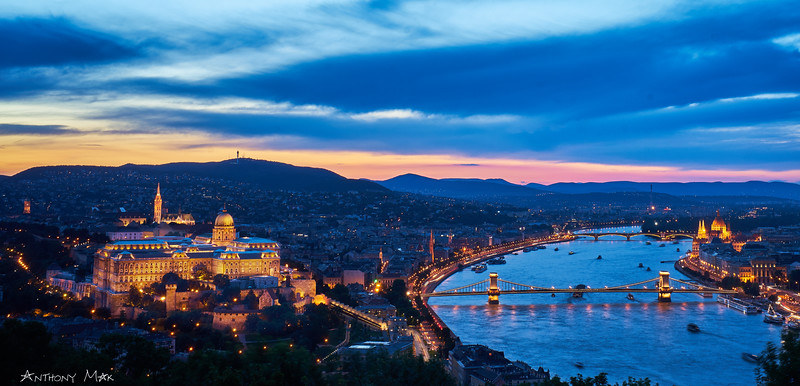 """Night Panorama of Budapest"""