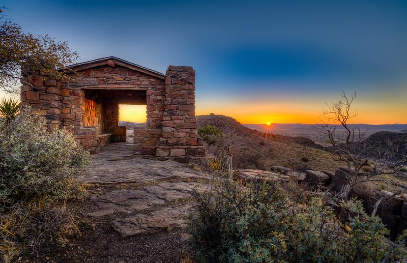 Davis Mountains Sunrise