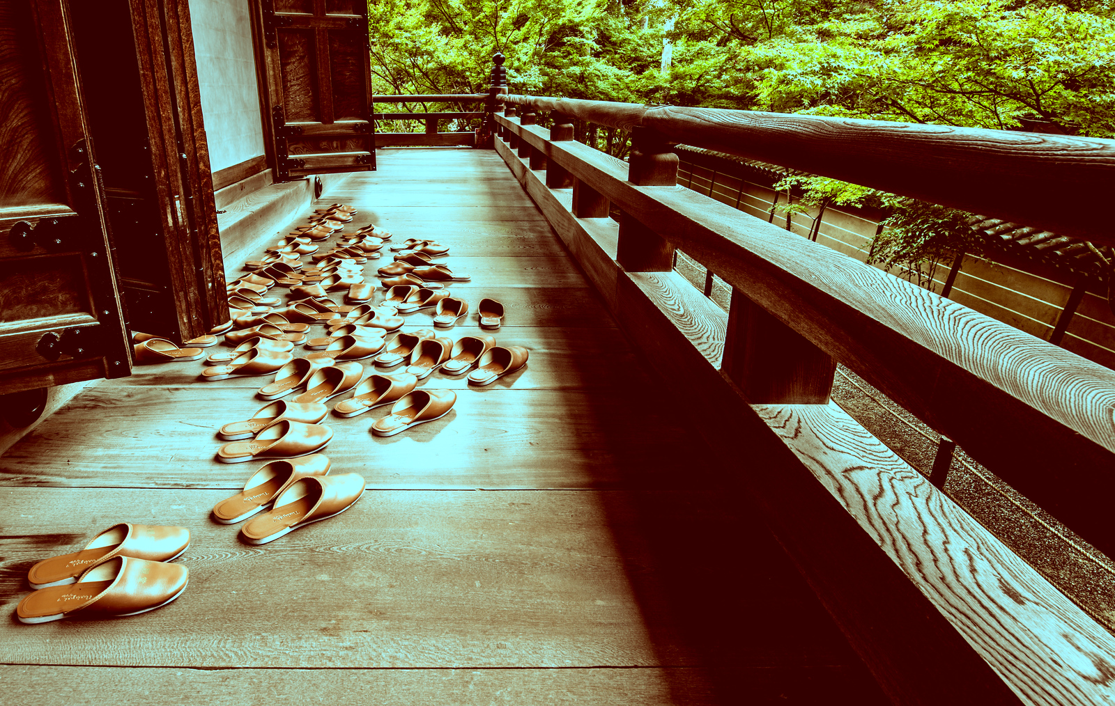 Sandals of the Monks