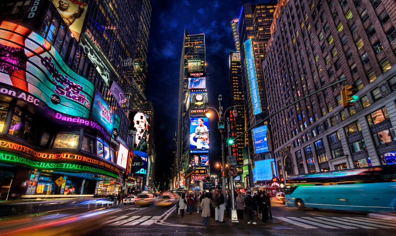 """<h2>Times Square at Dusk (New York City)</h2> <br/>(btw, you can <a href=""""http://digg.com/design/AMAZING_HDR_of_Times_Square_This_One_s_Sick"""">DIGG this photo here</a>)<br/><br/>Times Square is one of the most photographed places in the world.  I usually try not to do touristy thing, but hey, it's Times Square.  I thought I would try a new take on this shot, arriving just as the sun started to set.<br/><br/>The biggest problem was people waling in front of the tripod, totally aloof to my HDR quest.   Since it takes five minutes to explain HDR to people, it was not efficient to stop everyone in the area and give them a short dissertation on why it is important for them not to get in front of my tripod...<br/><br/>- Trey Ratcliff<br/><br/><a href=""""http://www.stuckincustoms.com/2007/03/31/times-square-at-dusk/"""" rel=""""nofollow"""">Click here to read the rest of this post at the Stuck in Customs blog.</a>"""