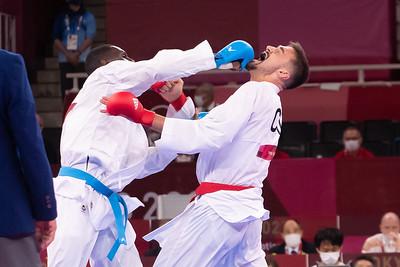 Tokyo 2020:  Men's Karate Kumite +75kg Elimination Round AUG 07