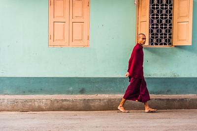 Maha Ganayon Kyaung monastery, Myanmar.
