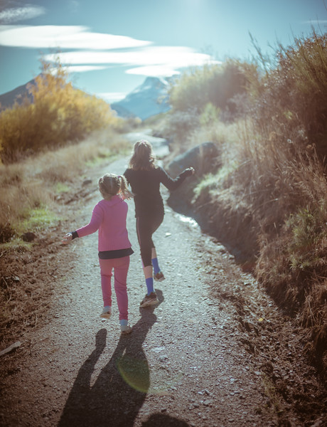 Running Through Glenorchy