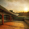"""<h2>The Long Path to the Temple of Heaven</h2> It was a beautiful morning in Beijing. It was cool and crisp, and I walked around this historic area while locals were doing yoga and various other exercises. There are many ancient, repeating structures that cover the grounds in a very orderly manner. This is one of the many long structures that helps to connect various areas of the complex.  - Trey Ratcliff  Read more <a href=""""http://www.stuckincustoms.com/2012/01/05/the-long-path-to-the-temple-of-heaven/"""">here</a> at the Stuck in Customs blog."""