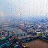 Rain - The Shard, London