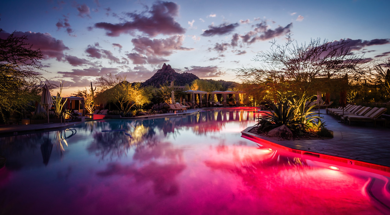 The Pool at the Four Seasons in Scottsdale