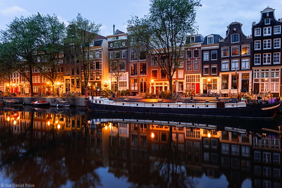 Canal Houses, Amsterdam, Holland