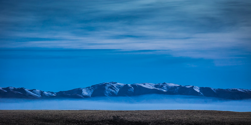 Low Mist in Mackenzie Country