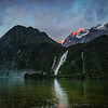 "<h2>Bowen Falls in Milford Sound</h2> <br/>This is one of many sights we'll be seeing together if you come down here to New Zealand. This place is quite the turkey shoot! There's beautiful bits all around.<br/><br/>The best way to get to this particular spot is to get off the walking path and work your way across the rocks. I prefer the view where you are looking across the water… The conditions change quite violently depending on the light and the amount of rain. Sometimes, after a fresh rain, that waterfall is absolutely insane! In this photo, it's still pretty crazy, but only of average sanity.<br/><br/>- Trey Ratcliff<br/><br/><a href=""http://www.stuckincustoms.com/2012/11/21/new-zealand-events-get-ready/"" rel=""nofollow"">Click here to read the rest of this post at the Stuck in Customs blog.</a>"