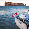 Percé Rock in Sunset Light (Gaspe)