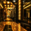 """<h2>Inside the Borg Ship</h2> <br/>There is an amazing hallway that connects the The Hotel at Mandalay Bay with the rest of the casino.  It's long and at its end is a cool bar, which is a welcome respite no matter what kind of night you had in Vegas.  Actually, I wouldn't really know since I don't drink... but, I do like to hang out in them, drink tomato juice, and process photos on my latptop.  Yes, this is lame, I know.<br/><br/>- Trey Ratcliff<br/><br/><a href=""""http://www.stuckincustoms.com/2009/08/04/the-hallway-to-the-bar-after-a-bad-night-in-vegas/"""" rel=""""nofollow"""">Click here to read the rest of this post at the Stuck in Customs blog.</a>"""