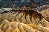 Golden Mudstones of Zabriskie Point